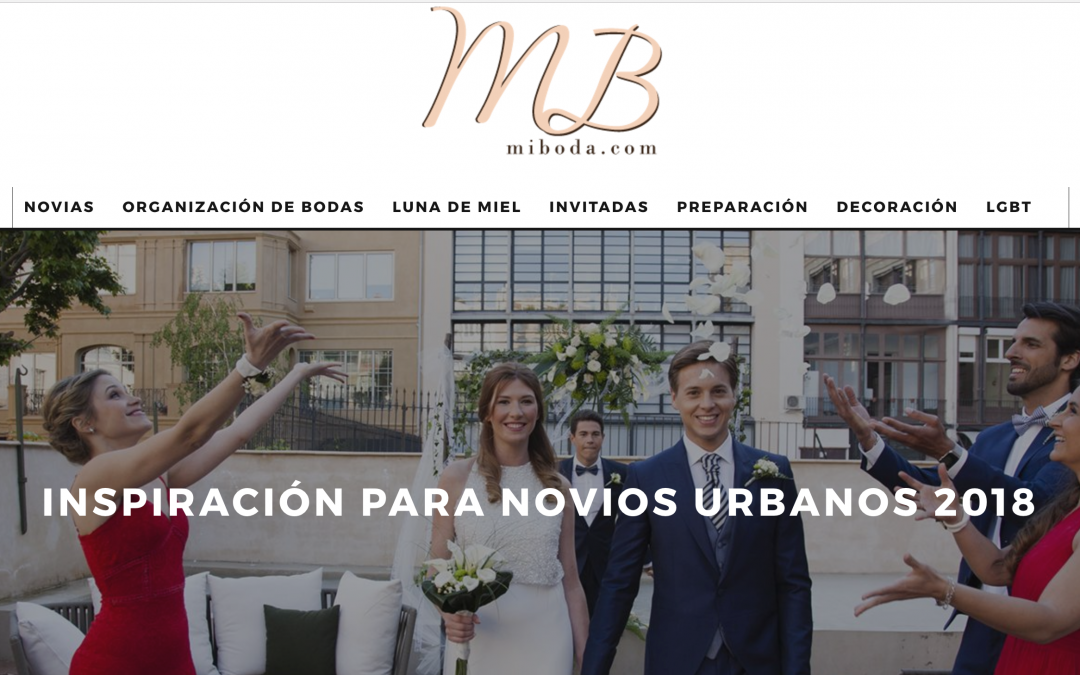 The New Urban Couple en el blog Mi Boda