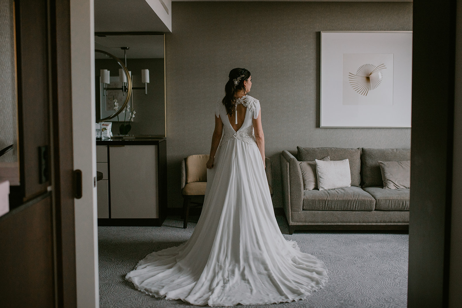 Una semana antes de la boda