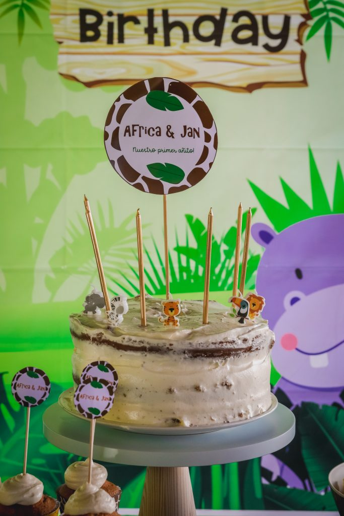 baby animals party theme jungle safari